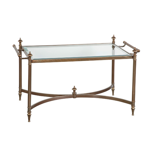 La Barge - Hand-Cast Brass Cocktail Table - LT7270