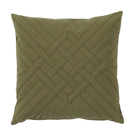 Lacefield Designs - Veranda PineQuilt Interlaced Outdoor Pillow - OUT39