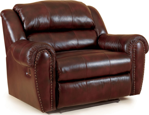 Lane Home Furnishings - Summerlin Oversized Faux Leather Recliner - 214-14