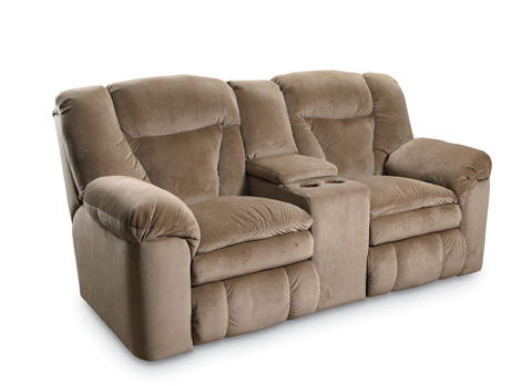Lane Home Furnishings - Talon Double Reclining Console Loveseat - 249-43