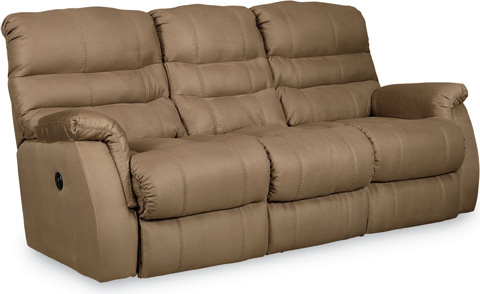 Image of Garrett Power Double Reclining Sofa