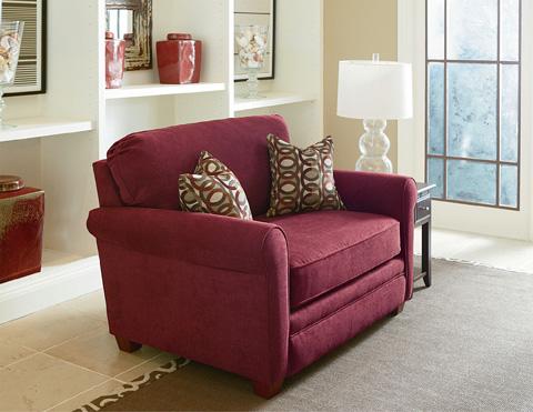 Lane Home Furnishings - Sunburst Twin Snuggler Sleeper Sofa - 769-15