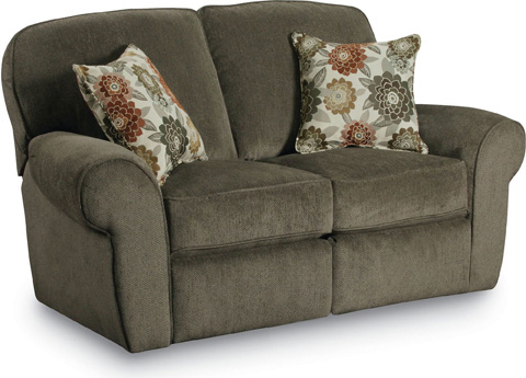 Lane Home Furnishings - Molly Double Reclining Loveseat - 357-29