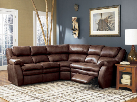 Lane Home Furnishings - Hendrix Reclining Sectional - 294