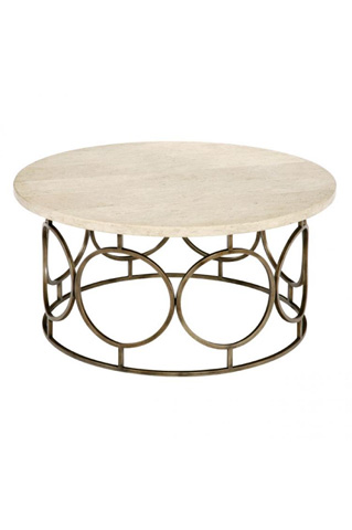 Laurel House Designs, Llc - Round Cocktail Table - 167805-00