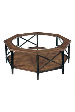 Laurel House Designs, Llc - Octagonal Cocktail Table - 189503-00