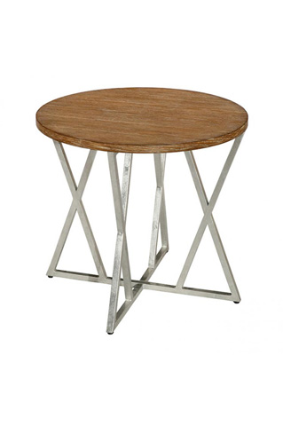 Laurel House Designs, Llc - Round End Table - 201233-00