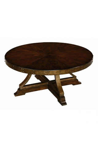 Laurel House Designs, Llc - Round Cocktail Table - 202205-00