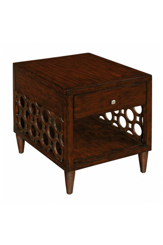 Image of Rectangular End Table