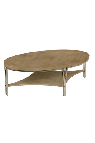 Laurel House Designs, Llc - Oval Cocktail Table - 210206-00