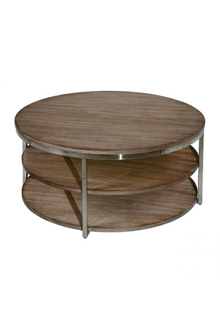 Laurel House Designs, Llc - Round Cocktail Table - 213205-00