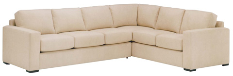 Lazar - Sutton Place 2pc Sectional - 106581L/, 106593R/