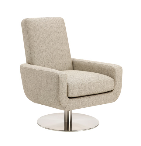 Lazar - Molise Swivel Chair - 118204SW