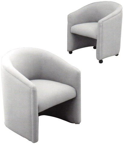 Lazar - Classic Accent Barrel Chair - 705