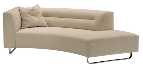 Lazar - Calcutta 1-Arm Sofa with Bumper - M4110103LC