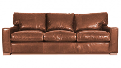 Image of Big City Leather Sofa