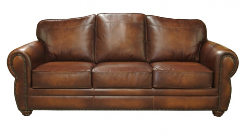 Image of Astley Leather Sofa