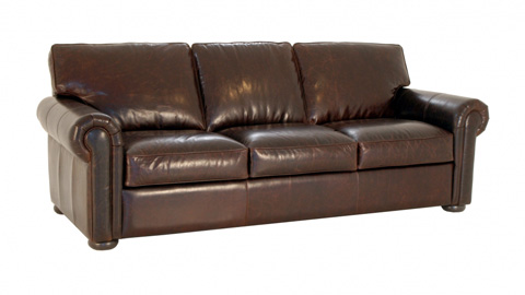 Image of Kirby Leather Sofa