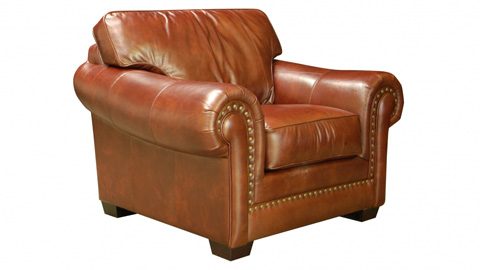 Leather Trend - Gowan Leather Chair - C493-10