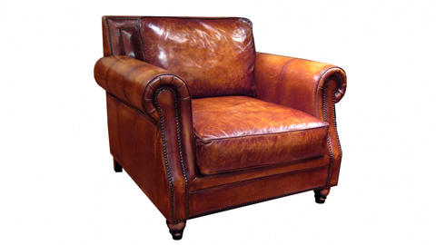 Image of Polo Leather Chair