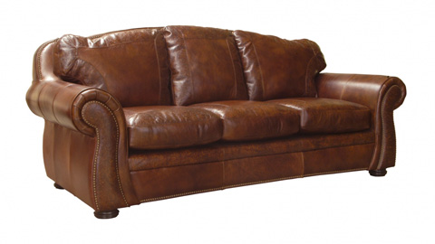 Image of Austin Leather Sofa