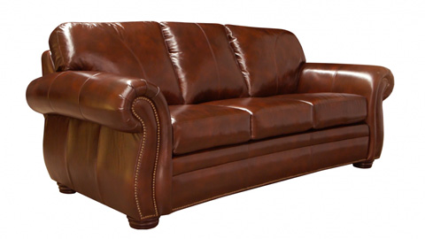 Image of Mayfair Leather Sofa