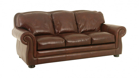 Image of Finham Leather Sofa