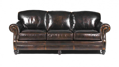 Image of Bentley Leather Sofa