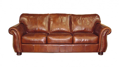 Image of Medway Leather Sofa