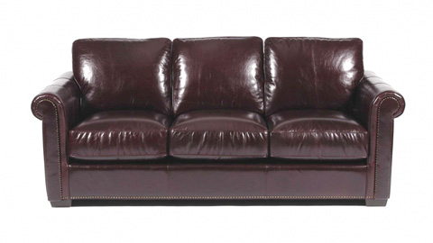 Image of Brennana Leather Sofa