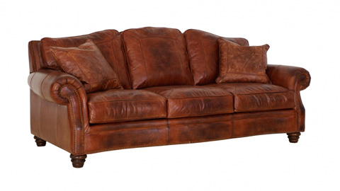 Image of Somerset Leather Sofa