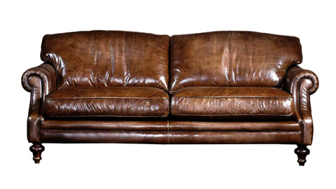 Image of Ledmore Leather Sofa