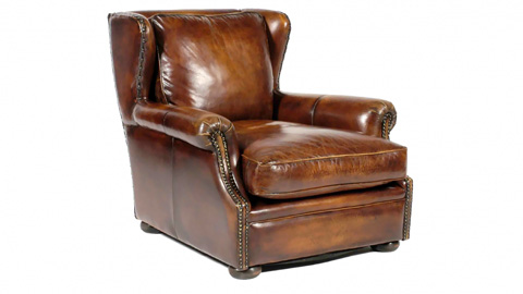 Image of Churchill Leather Chair