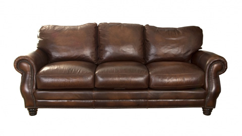 Image of Holden Leather Sofa