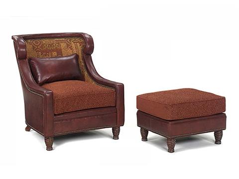Leathercraft - Ashley Wing Chair - 101-17