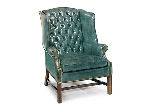 Leathercraft - Alistair Wing Chair - 1241-18