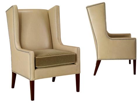 Leathercraft - Kellan Wing Chair - 1261-17