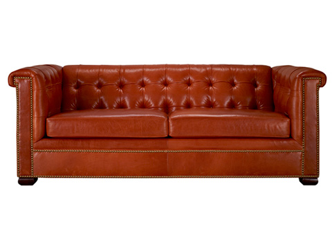 Leathercraft - Claridge Tufted Sofa - 1280-18