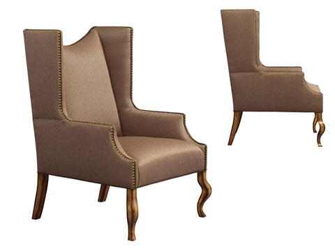 Leathercraft - Linden Wing Chair - 1292-17