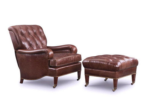 Leathercraft - Collins Easeback Chair - 142-18