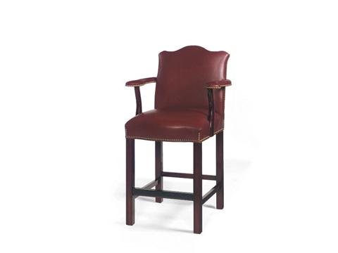 Leathercraft - Keats Low Barstool - 2118L