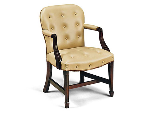Leathercraft - Charleston Accent Chair - 248-27