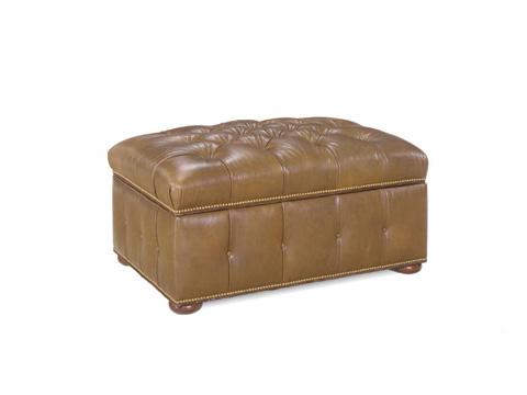 Leathercraft - Augustus Storage Ottoman - 323-3ST