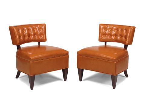 Leathercraft - Jacqueline Armless Chair - 4272-10
