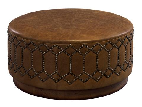Leathercraft - Brigham Ottoman - 584