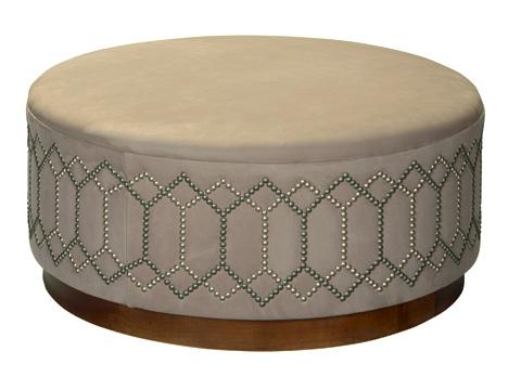 Leathercraft - Brigham Ottoman - 584-36