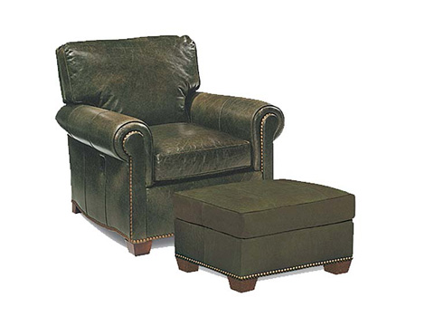 Leathercraft - Robinson Easeback Chair - 672