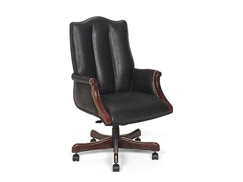 Leathercraft - Harvard High Back Tilt Swivel Chair - 7603H-UA