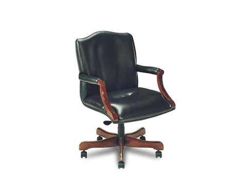 Leathercraft - Harvard Tilt Swivel Chair - 7603-OA