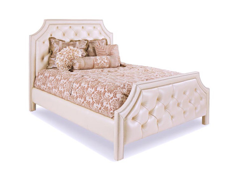 Leathercraft - Abel Queen Bed - 808-QB